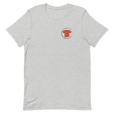 News On Tshirt- athletic heather -