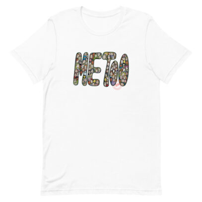 Tribute to the Me Too movement - T-Shirt  - white - Newsontshirt