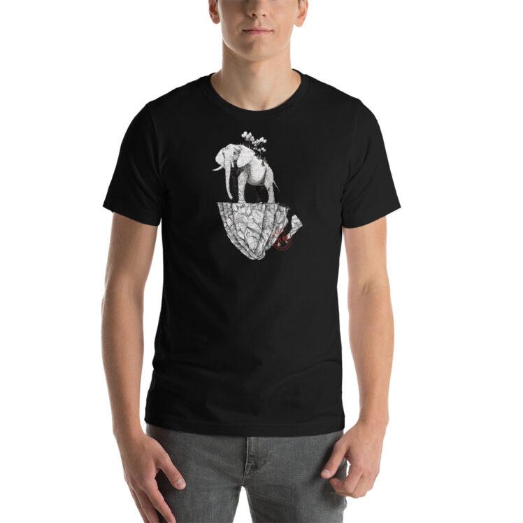 Deforestation  - T-Shirt - black - man - Newsontshirt