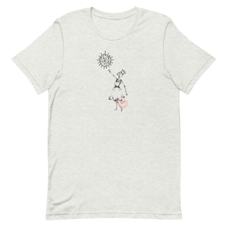 Covid-19 Effect - T-Shirt - ash - Newsontshirt