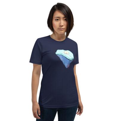 Global Warming - T-Shirt - navy - women1 - Newsontshirt