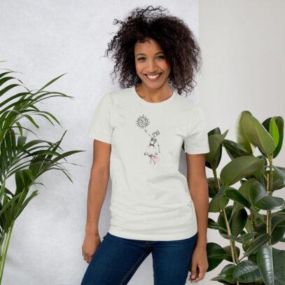 Covid-19 Effect - T-Shirt - silver - women - Newsontshirt