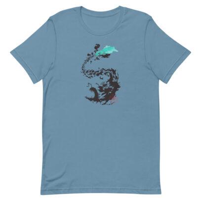 OilSpill - T-Shirt - steel blue - Newsontshirt