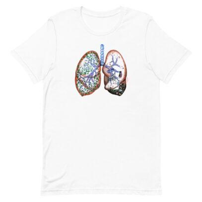 Pollution and Health - T-Shirt - white - Newsontshirt
