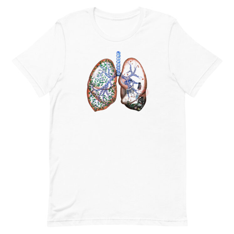 Pollution and Health - T-Shirt - white - Newsontshirt