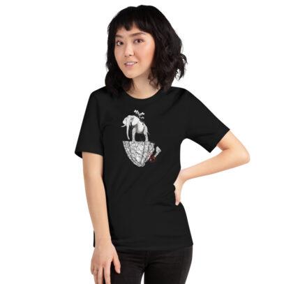 Deforestation  - T-Shirt - black - women - Newsontshirt