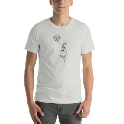 Covid-19 Effect - T-Shirt - silver - man - Newsontshirt