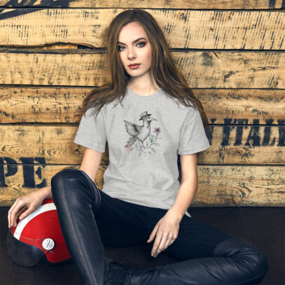 Masks and the impostor syndrome - T-shirt women1 - athletic - Newsontshirt