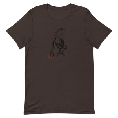 Earth Overshoot Day - T-Shirt - brown  - Newsontshirt