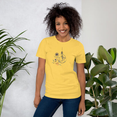 World Mental Health Day - T-Shirt - yellow - women2 -  Newsontshirt