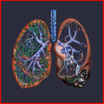 Pollution and Health-Navy-Artwork-Newsontshirt