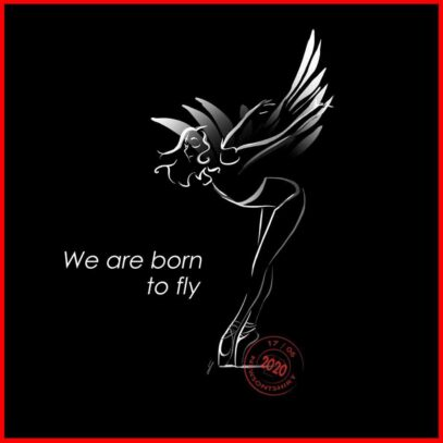 We-are-born-to-fly-artwork-black-Newsontshirt