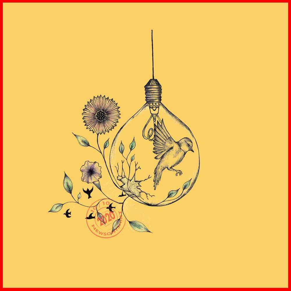 World Mental Health Day-Yellow-Artwork-Newsontshirt