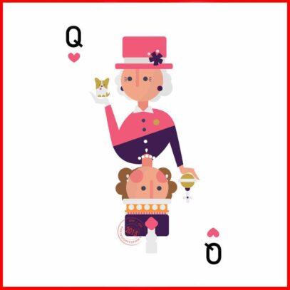 Queen of the Queens-artwork-Newsontshirt