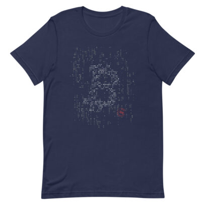 Cryptocurrency-T-Shirt-Navy-