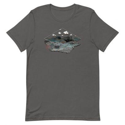 Ghost Nets - T-Shirt - Asphalt - Newsontshirt