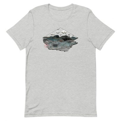 Ghost Nets - T-Shirt - Athletic Heather - Newsontshirt