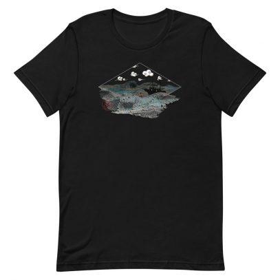 Ghost Nets - T-Shirt - Black - Newsontshirt