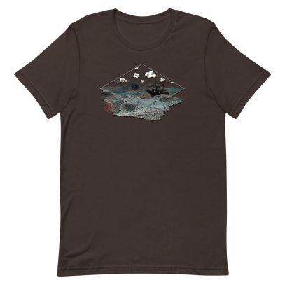 Ghost Nets - T-Shirt - Brown - Newsontshirt